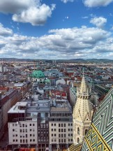Vienna from above St. Stephen's Cathedral